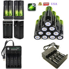 USA 18650 Battery 3.7V Li-ion Rechargeable 18650 Battery For Flashlight 18650