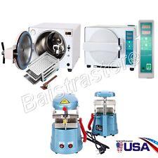 Usa Dental Lab 18l Medical Autoclave Steam Sterilizer Vacuum Forming Machine
