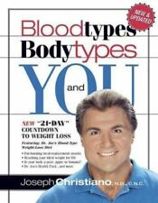 Blood Types, Body Types and You, Joseph Christiano, Good Book