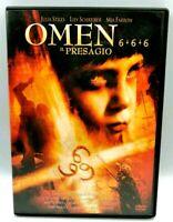 Omen 6+6+6 Il Presagio DVD Julia Stiles Liev Schreiber Mia Farrow Film Cinema X