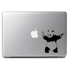 Banksy Panda Guns for Macbook Air/Pro Laptop Car Window Auto Vinyl Decal Sticker