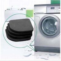 4 X Washing Machine Shock Pads Anti Vibration Feet Tailorable Adjustment-GVUK