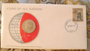 Coins of All Nations Haiti 50 Centimes 1975 UNC