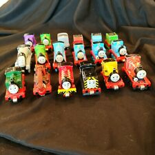 Lot Of 18 Thomas The Train & Friends Die Cast Magnetic Trains 2000 - 2010
