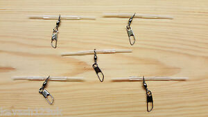 5 x Loaded Pellet Waggler Big Float Adapters.(Clear)