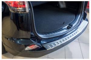 Edelstahl Ladekantenschutz für Toyota RAV4 4 FL 5 Jahre Garantie ab 2016-2018