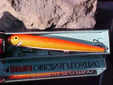 Rapala Orginal Floating F18 GFR Color Gold Flo Red Bass/Walleye/Pike/Pickerel