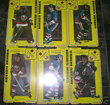 1975 Hockey Heroes Set of 6 New York Islanders -  Mint in Shrink Wrap