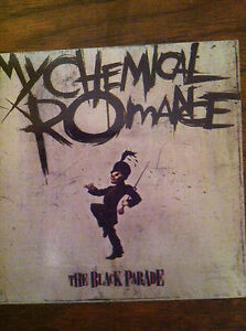 My Chemical Romance two promo stickers for the Black Parade cd 2006  Gerard Way