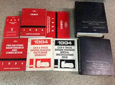 1994 FORD CARGO TRUCK VAN Service Shop Repair Manual Set 8 BOOKS TOTAL OEM 94