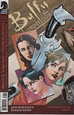 Buffy The Vampire Slayer #8 cover B comic book Season 8 TV show series Faith