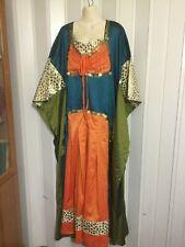 Fancy Abaya caftan dress Gown Maxi Theater Costumes Women Reenactment Halloween