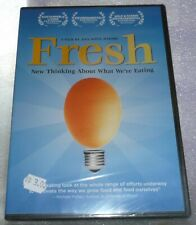 Fresh Documentary DVD New Thinking about What We're Eating NEW SEALED