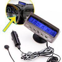 12V LCD Termometros interior al aire libre digital de coche Comprobador de G4G8
