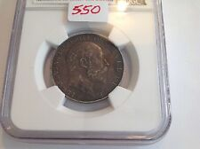 1908 Great Britain Florin NGC XF 45