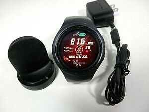 Samsung Gear S2 SM-R730V Verizon Smartwatch - Dark Gray Size L