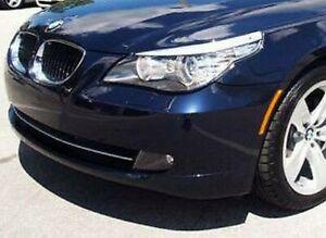 BMW Brand Genuine Clear E60 E61 5 Series 2008-2010 LCI Halogen Headlamps Pair