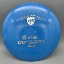 Rare OOP Blue DIscmania Echo DD3 S-LINE Disc Golf Distance Driver 175gw