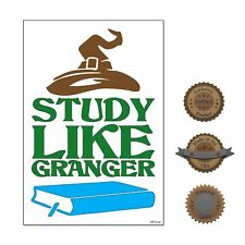 """13""""×19"""" Poster Classroom Educational School: Study Like A Granger Hermione"""