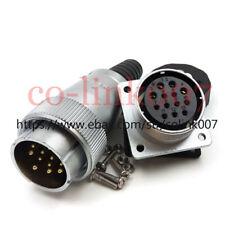 13pin Aviation Connector,WS32 500V Bulkhead Industrial Plug Socket Circular Plug
