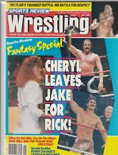 Sports Review Wrestling Cheryl Ladd Ric Flair January 1989 060519nonr