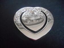 Silver Bookmark, Sterling, Loveheart, Scottish, Hallmarked Edinburgh