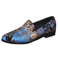 Slip On Floral Pointed Formal Shoes for Men