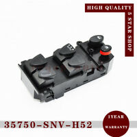 35750-SNV-H52 Window Master Control Switch for 2006-2010 Honda Civic 1.3 1.8 2.0