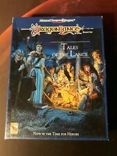 AD&D - Dragon Lance: Tales of the Lance, incomplete ?, TSR 1992 rar