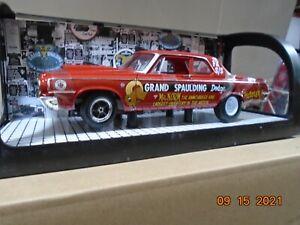 1.18 DIECAST  GRAND SPAULDING DODGE  MR NORM  RACE CAR   HIGHWAY 61