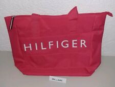Tommy Hilfiger Weekender Duffle Tote Pink & White Brand New with Tags