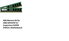 4GB kit 2x2GB 450260-B21 444909-061 460277-001 DDR2 PC2-6400 HP Proliant Memory