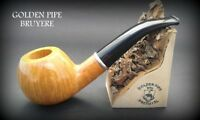 Exclusive Wooden TOBACCO  SMOKING PIPE  LARGE BRIAR  76  Natural  BRUYERE  + Box