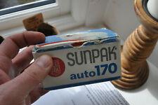 Sunpak Auto 170 external shoe-mount flash for SLR - 1980s