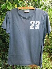 Men's Boy's Urban Spirit Vingtage Style Blue T-shirt - Small