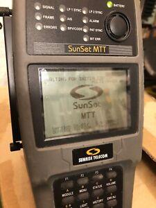 Sunrise Telecom Sunset MTT test unit