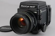 2501#GC Mamiya RB67 Pro SD Film Camera w/ K/L 127mm f/3.5 L AS is