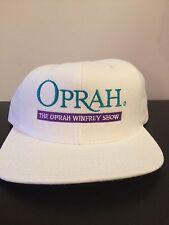 Oprah Winfrey Show Cap Hat Baseball White Purple Green Television TV Vintage New