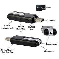Nero USB Piattaforma Nascosto Telecamera Cam DV / DVR / U8