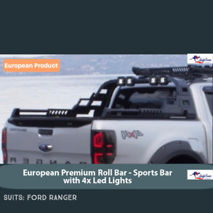 RANGER RAPTOR Sports Bar - Sports Bar with 4X Lights for FORD RANGERS