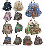 Backpack Ladies Girls Women Print Bag Medium Large Rucksack School Gym Travel