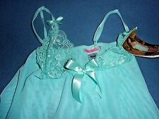 Size S Dreamgirl Stretch Lace Babydoll 7978 MSRP $41.95