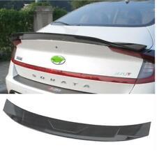 carbon fiber abs Rear Tail Trunk Spoiler Wing Lip FOR Hyundai Sonata 2020-21