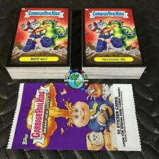 GARBAGE PAIL KIDS 2013 BRAND NEW SERIES 3 BNS3 BLACK BORDER 132-CARD SET WRAPPER