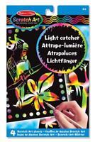 Melissa and Doug Melissa & Doug Light Catcher Scratch Art Sheets - 15800 - NEW!
