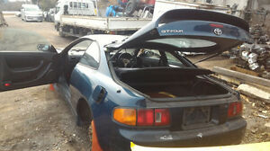 JDM Toyota Celica T200 ST205 liftbackREAR LICENSE PLATE GARNISH FILLER PANEL OEM