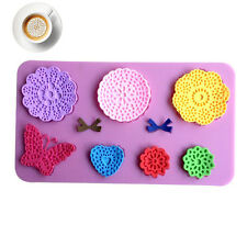 Silicone Butterfly Cake Lace Mat Mold Mould  Sugar Chocolate Fondant Decorating