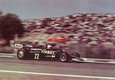 Photo GP Espagne 1977 Jarama Formule 1 F1 Clay Regazzoni Ensign Tissot Castrol