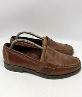 Cole Haan Mens Slip On Penny Leather Loafers Shoes Brown Size 8.5M
