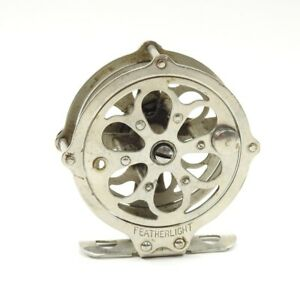 Meisselbach Featherlight No. 270 Skeleton Fly Fishing Reel. Needs Handle.